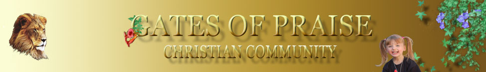 Gates of Praise Christian Community Header